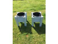 Premium deckboard pot holders