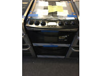ZANUSSI 60CM GAS COOKER DOUBLE OVEN AND GRILL **NEW DISPLAY ITEM** FREE DELIVERY