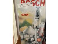 Bosch hand blender - brand new in box
