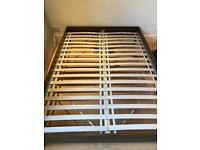 Ikea double bed frame