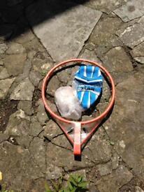New netball/basketball hoop