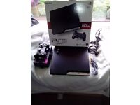 Sony Playstation (PS3) console and games