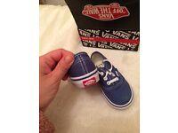 Boys Vans-brand new with box