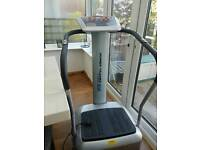 Vibroplate exercise sound machine
