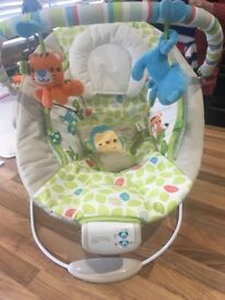 comfort harmony bouncer by bright stars