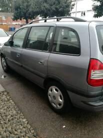 Vauxhall zafira 2003
