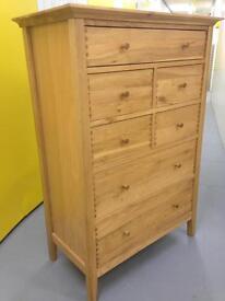 Willis & Gambier Solid Oak Chest of Drawers (John Lewis Range) Furniture Sutton