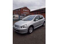 Peugeot 307 HDi 1.4 Road Tax £30