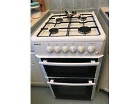 Beko white gas cooker