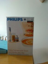 philips hand blender brand new still boxed nice wedding gift 25 pounds