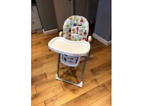 Cosatto high chair for sale