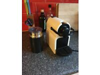 Krups nespresso maker and frother