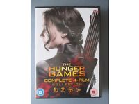 The Hunger Games Dvds - Complete 4 dvd film collection