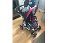 Girls Dolls pram