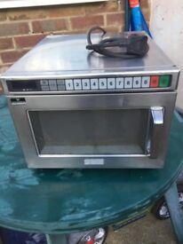 Panasonic NE1856 Commercial microwave oven 1850w