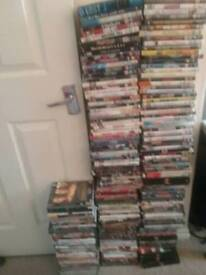 Dvd lot for sale around 200 dvds