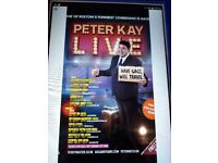 3 x Peter Kay Single Tickets