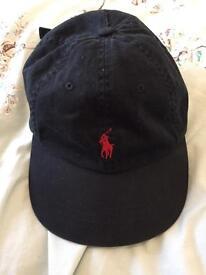 Black Ralph Lauren cap
