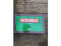 Scrabble the board game - Original & Boxed