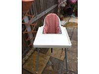 Ikea Antilop highchair (with seat insert)