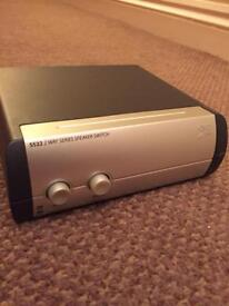 QED SS22 2 way speaker switch
