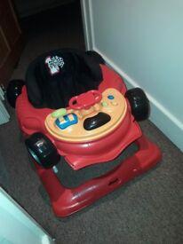 Baby Walker (racecar) red 6 + months