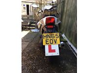 50cc moped, ideal for first wheels
