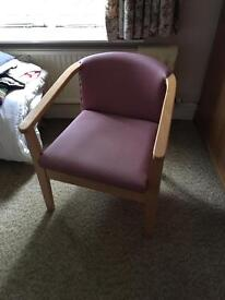 Chair, commode combo