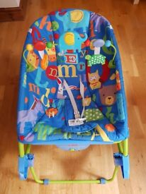 Fisher-Price Infant to Toddler Rocker/Stationay Seat/Vibrating Chair - £25