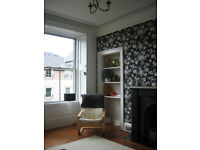 Spacious 2 bedroom/2 bathroom flat in Leith