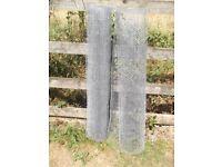 NEW 10m x 4ft Galvanised Chicken Wire Net Fence, Netting, Rabbit, Fence, Pet, Garden