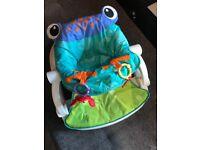 Baby sit-me-up floor seat-fisher price