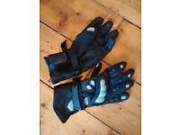 Ladies Leather Motorbike Gloves