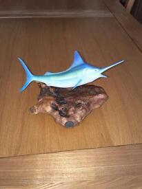 Marlin sculpture