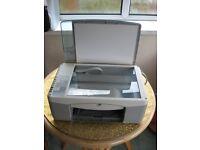HP printer scanner, connector leads, CD, instruction leaflet and handbook for sale. £10
