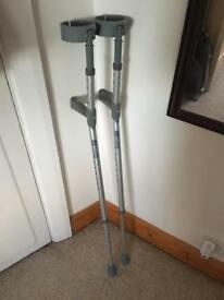 Pair of crutches. Free Delivery!