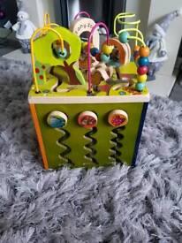 B Zany Toys Activity Cube