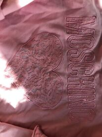Girls Moschino Jumper For Sale Size 10 years
