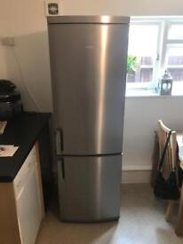 AEG large silver fridge freezer *collection only*