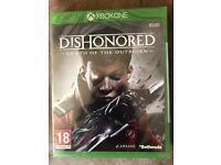 Xbox One Dishonoured Death of the Outsider Brand New