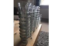 Wedding - Mirrored table decorations/ candle holders - wedding or events
