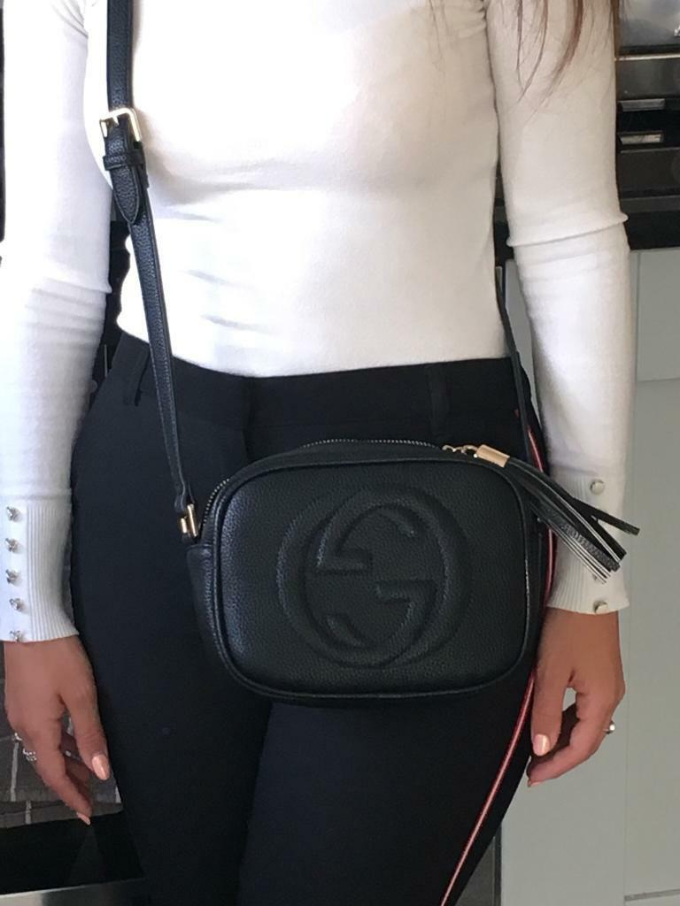7cf84df13 Black Gucci crossbody bag | in Ingleby Barwick, County Durham ...