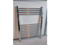 Bathroom Towel Rail Radiator Chrome