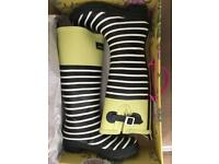 Joules lime/Black wellies