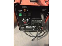 SEALEY MIGHTYMIG150 GAS/NO-GAS MIG WELDER 150A 230V