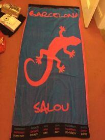 Large Salou bath towel.