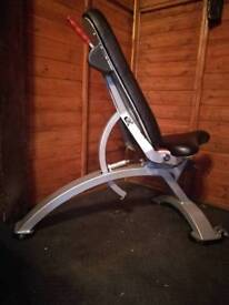 Full commercial hydraulic Incline flat bench Panatta
