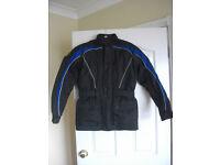 Oxford Bone Dry Textile Motorbike Jacket.