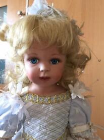 Cinderella Porcelain Doll