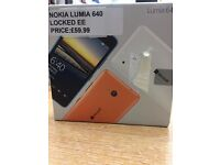 !!!!SUPER CHEAP DEAL BRAND NEW NOKIA LUMIA 640 EE LOCKED IN BOX WITH WARRANTY!!!!